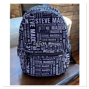 STEVE MADDEN 'Bbailey' Monogram Mini Backpack-NEW